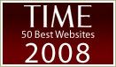 Time 50 Best Websites 2008