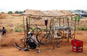 Bicycle Mechanic in Africa