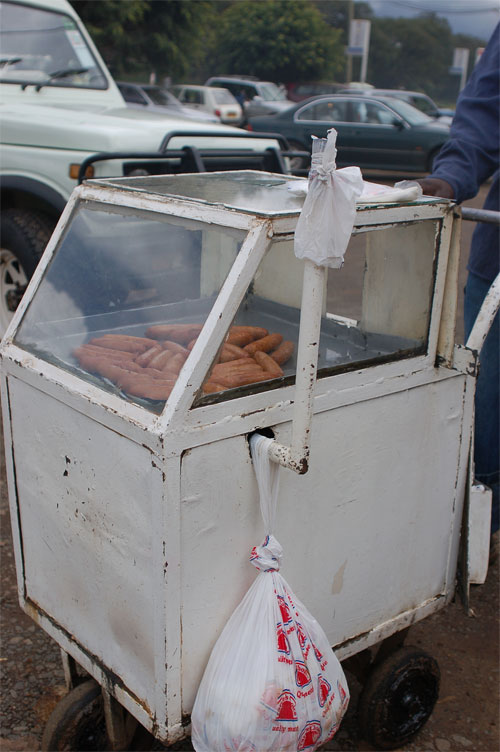 Sausage Cart - Simple Heating for Street Meat