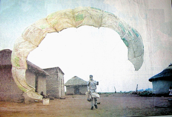 South African's Homemade Paraglider