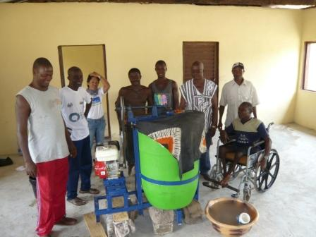 The Team behind the bio-diesel project in Makeni Sierra Leone