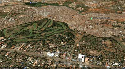 Kibera from space