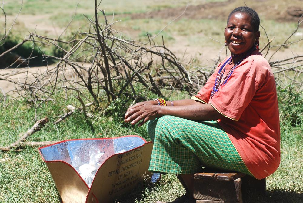 Mama solar cooker
