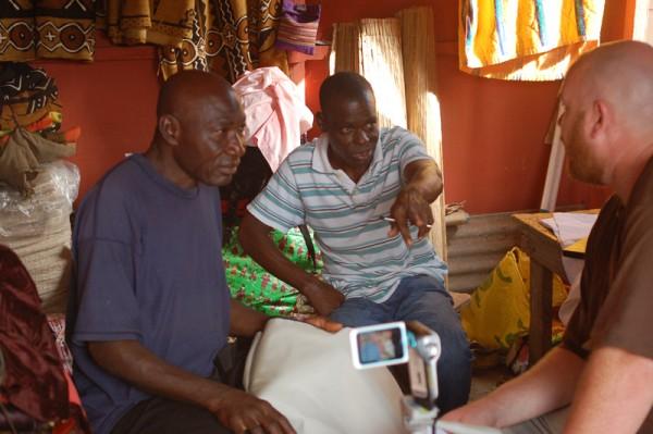 Tailor interviews - Ghana