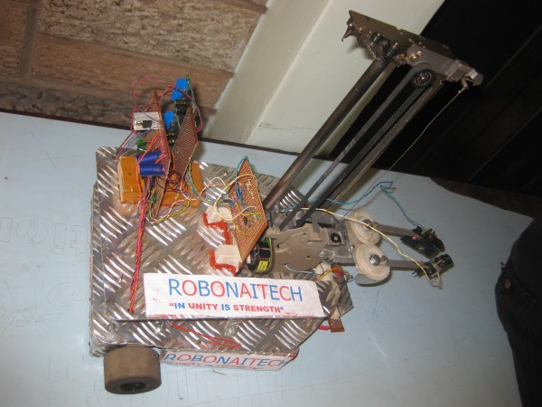 Nairobi Technical Training Institute Robot