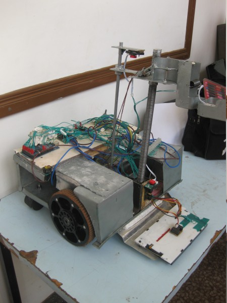 Machakos Institute of Technology (MIT) Robot