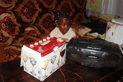 cargador de radio