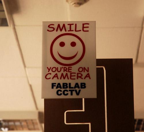 Fab lab sign