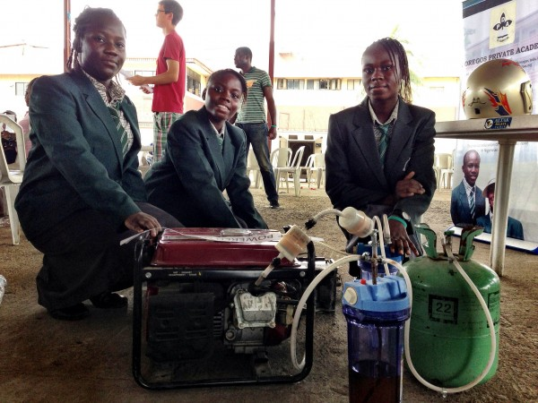Some school girl makers in Nigeria 2012